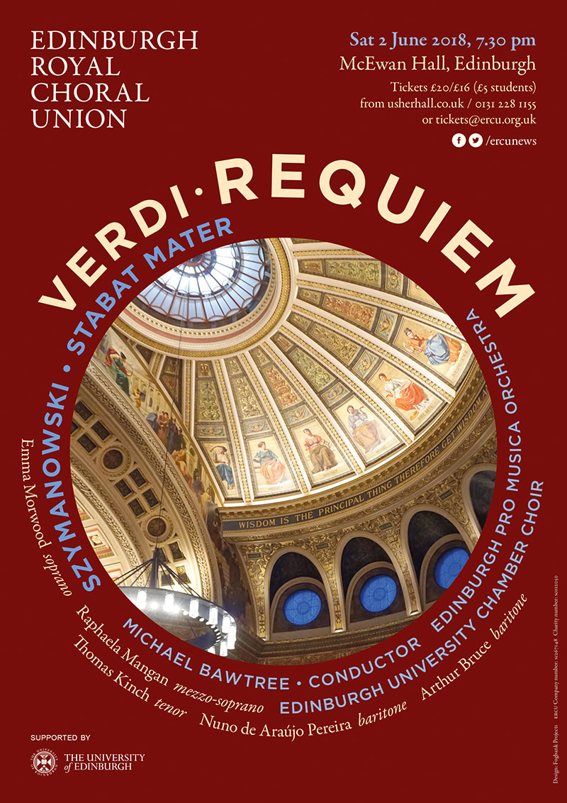 Poster for Verdi Requiem