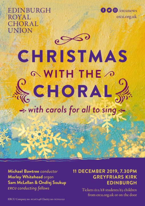 Christmas concert Poster 2019