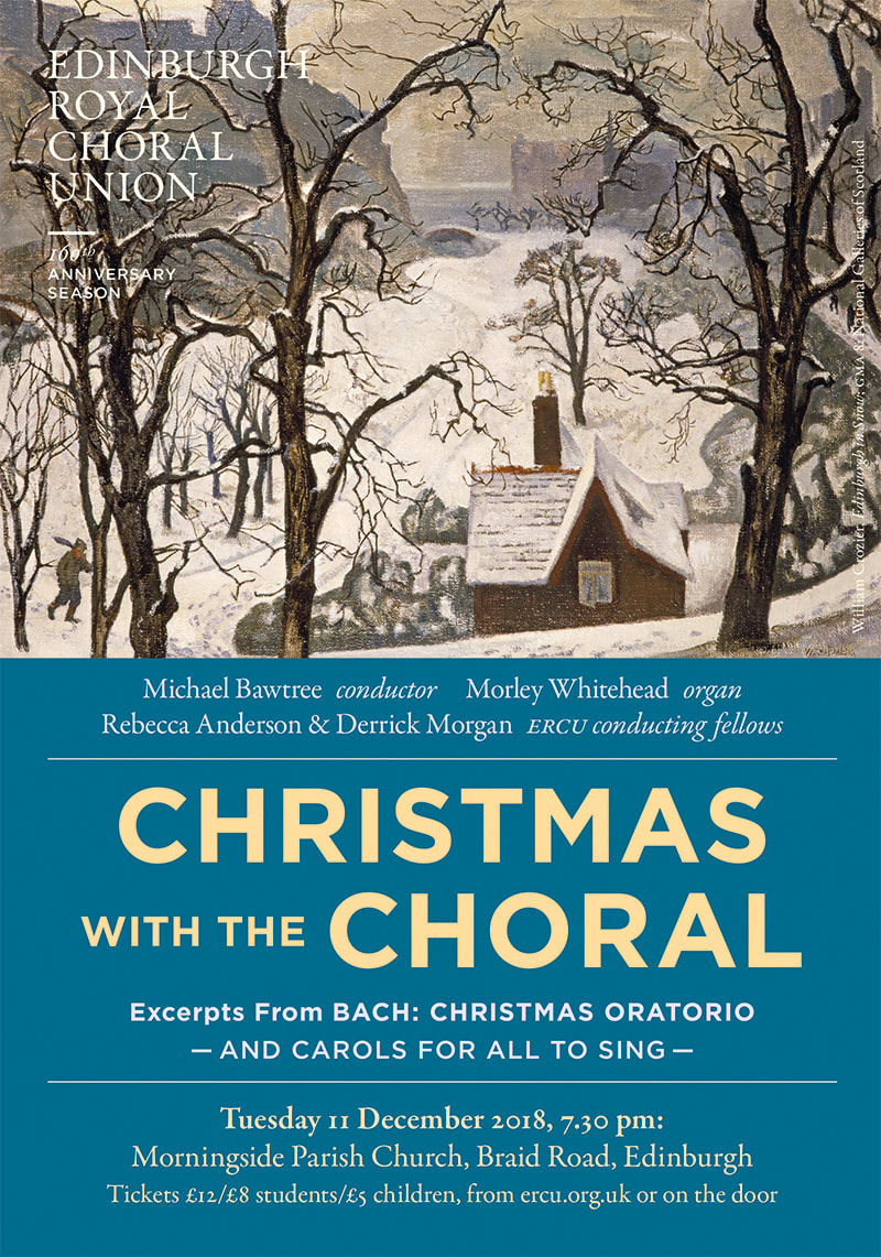 Poster for Christmas with the Choral